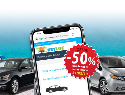 Keyloc, votre outil de gestion de parc automobile en location